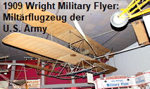 1909 Wright Military Flyer: Miltärflugzeug der U.S. Army