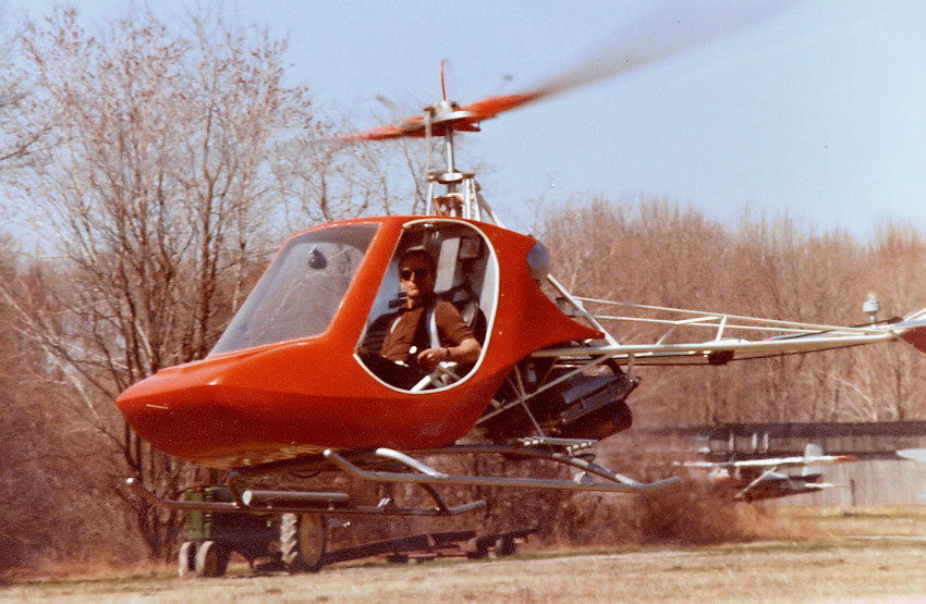 Rotorway Scorpion Too - Flug