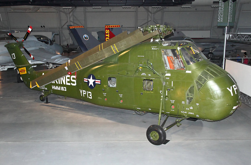 Sikorsky UH-34D Seahorse: Transporthubschrauber der U.S. Marine Corps ab 1957