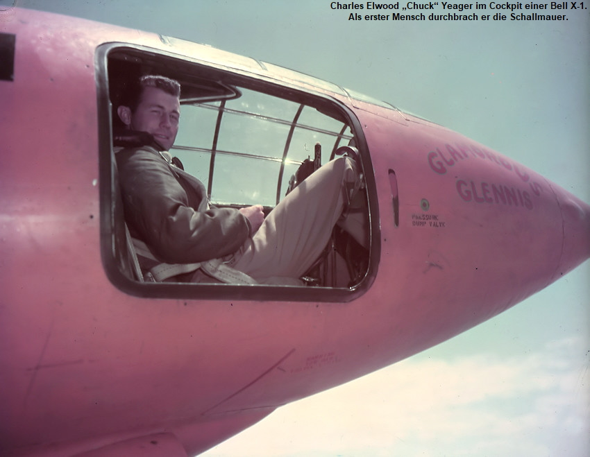 Bell X-1 - Chuck Yeager in Bell X-1