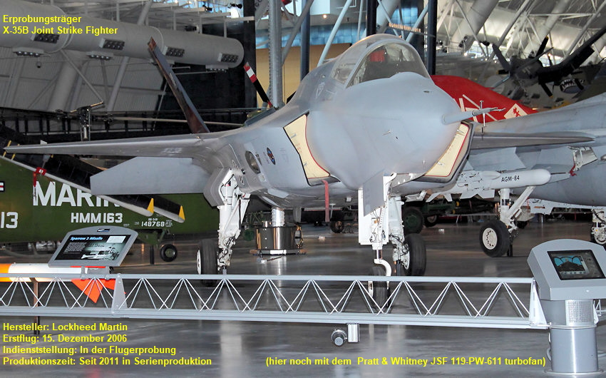 Lockheed Martin X-35B Joint Strike Fighter: Erprobungsträger im Rahmen des Joint-Strike-Fighter-Programms