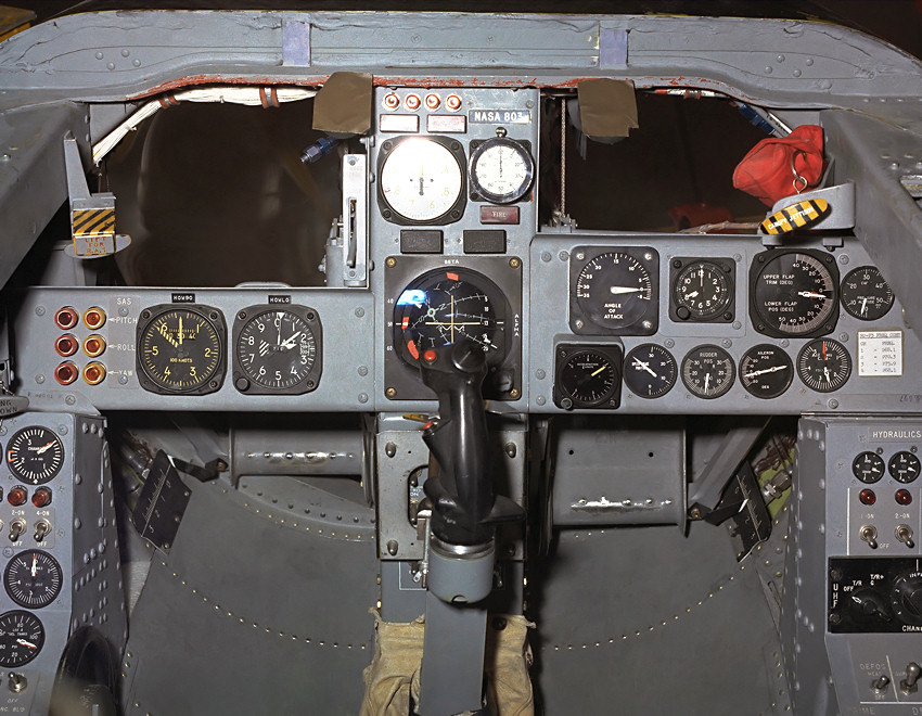 Northrop M2-F3 Lifting Body - Cockpit