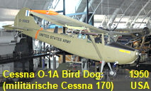Cessna O-1A Bird Dog: militärische Version der Cessna 170