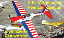 De Havilland DHC-1A Chipmunk, Pennzoil Special: modifizierte Rennversion des Trainingsflugzeugs