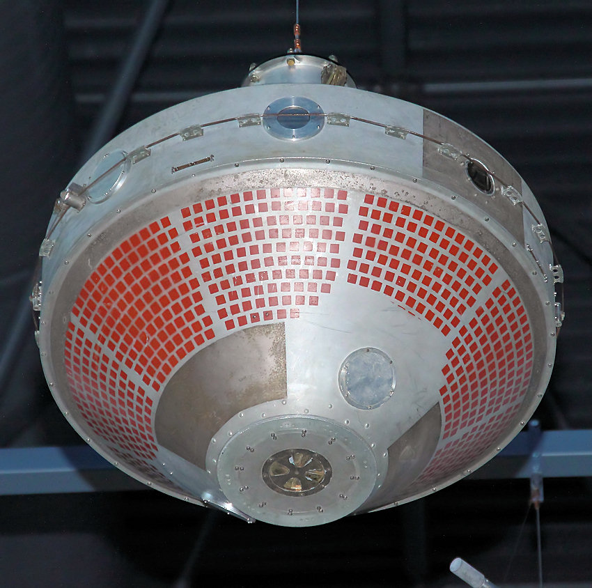 Explorer 8 satellite