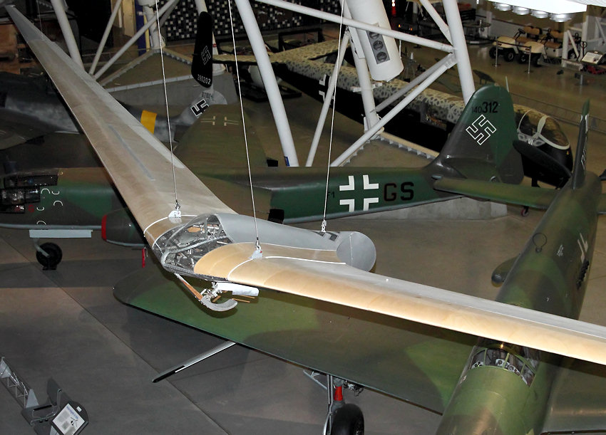 Horten Ho Iii F Segelflugzeug Als Nurflügler Von 1938
