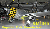 Republic P-47 Thunderbolt: Kampfflugzeug der US-Firma Republic Aviation Company