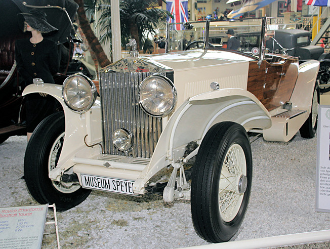 Rolls-Royce Phantom II Boattail Tourer