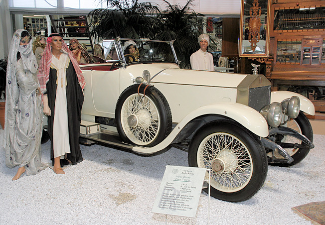 Rolls-Royce Silver Ghost Open Tourer