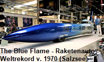 The Blue Flame - Raketenauto