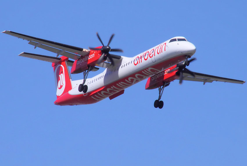 De Havilland of Canada DHC-8 Q400 (Dash 8): zweimotoriges Turbo-Regionalflugzeug