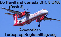 De Havilland Canada DHC-8 402Q - Dash 8: 2-motoriges Turbo-Regionalflugzeug