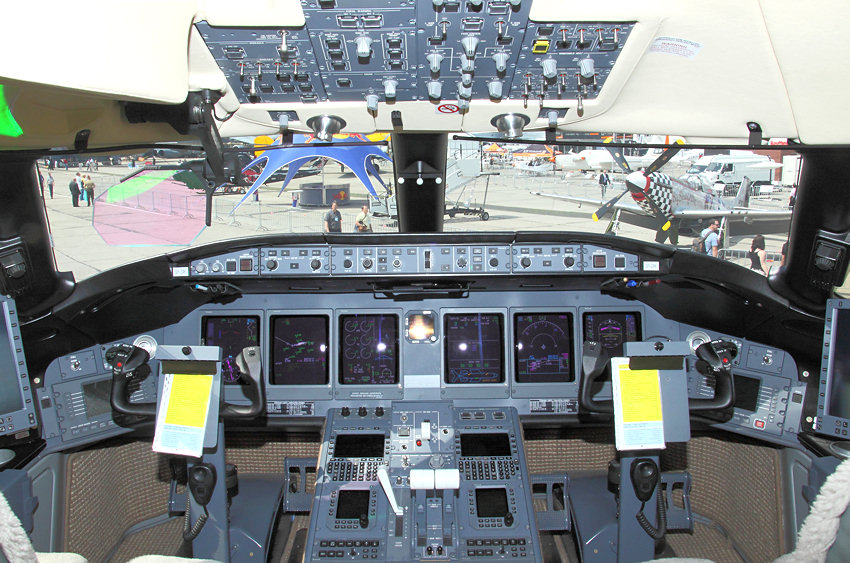 Bombardier Global Cockpit