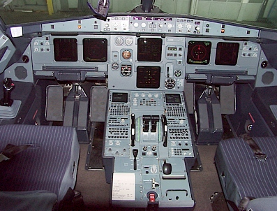 Cockpit Airbus A-319