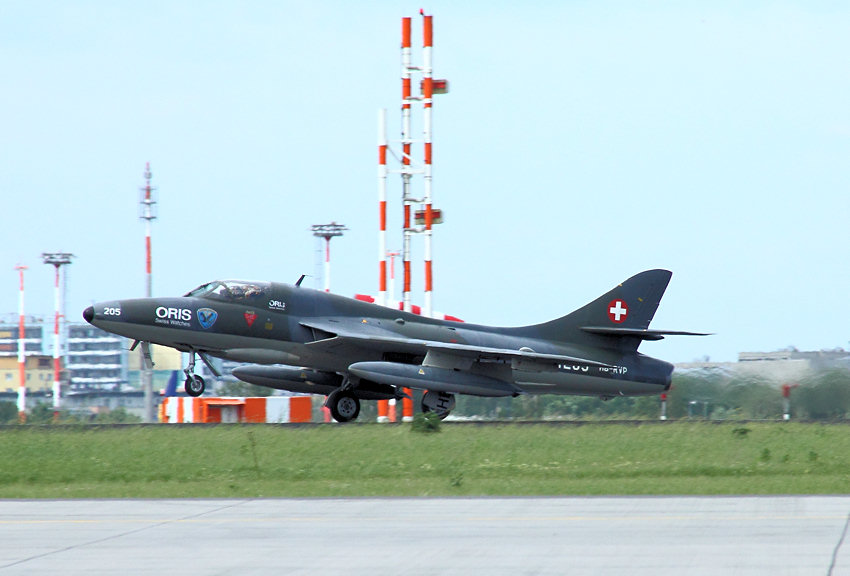 Hawker Hunter Mk. 68: Exportmodell