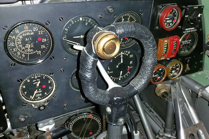 Hawker Hurricane - Cockpit Detail