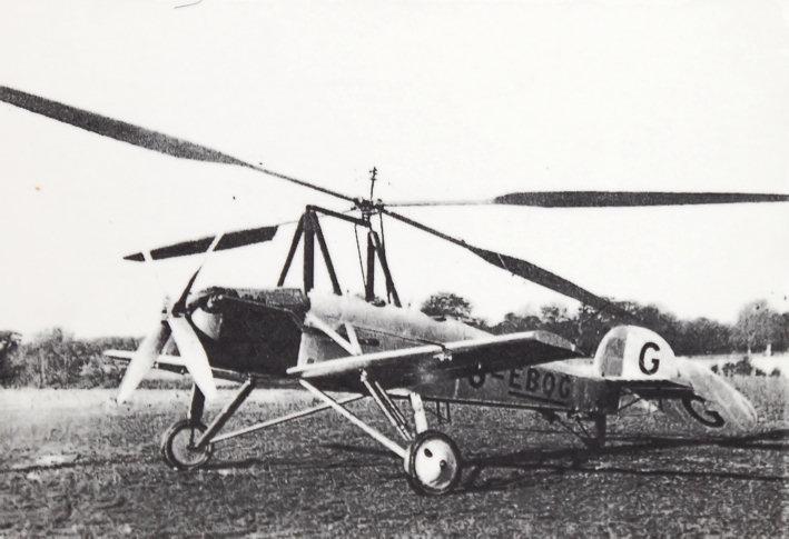 Parnall - Cierva C.11: Tragschrauber aus der Frühzeit der Luftfahrt