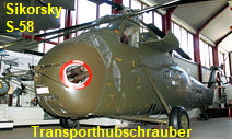Sikorsky S-58 - H-34 G-III Transporthubschrauber