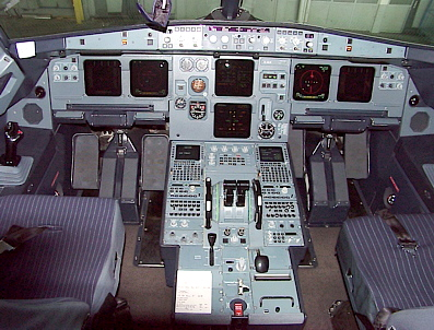Airbus A 319 - Cockpit