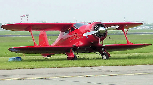 "Beech D 17 S ""Staggerwing"