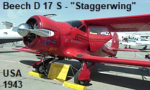 Beech D 17 S - Staggerwing