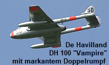 "De Havilland DH 100 ""Vampire"""