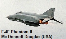 F-4F Phantom II - Mc Donnell Douglas
