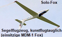 Solo-Fox - einsitzige MDM-1 Fox