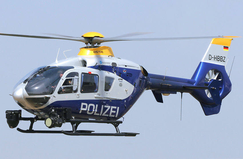 eurocopter ec135 polizeihubschrauber der bundesrepublik. Black Bedroom Furniture Sets. Home Design Ideas