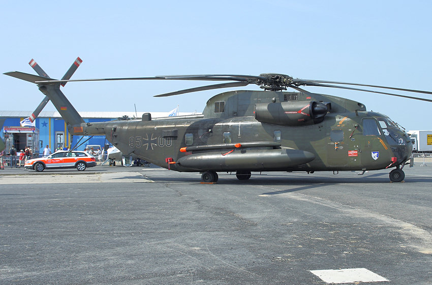 Sikorsky CH-53: Transporthubschrauber des Heeres