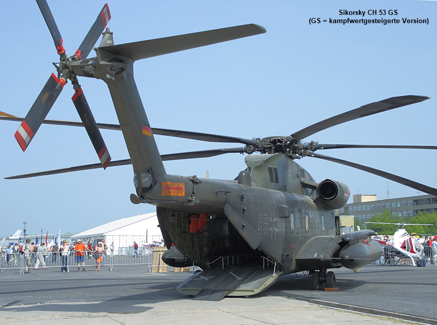 Sikorsky CH 53 GS - Transporthubschrauber