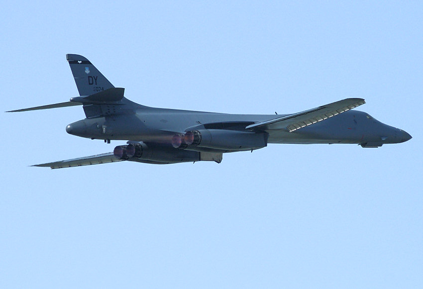 B1 Lancer Bone: schwerer Langstreckenbomber der U.S. Air Force