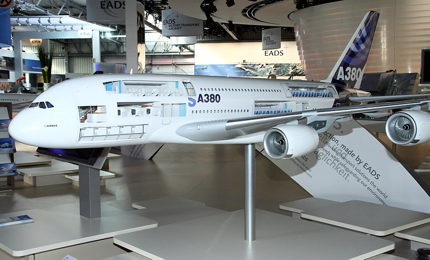 Airbus A380 - Modell