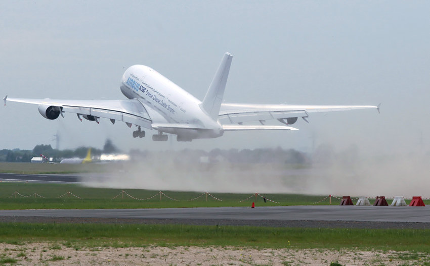 Airbus A380 - Start
