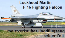 F-16 Fighting Falcon - Lockheed