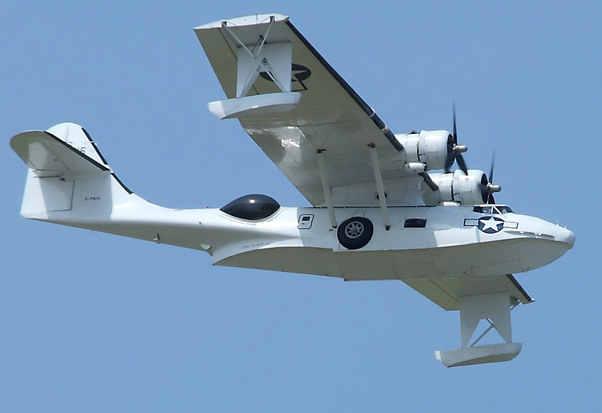 PBY-5A Canso - Flug