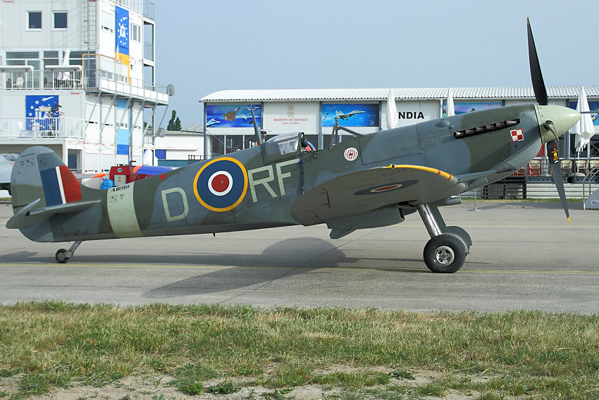 "Supermarine Spitfire: Flugzeug der ""Battle of Britain Memorial Flight"""