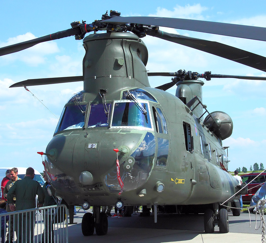 CH-47 Chinook - Frontansicht