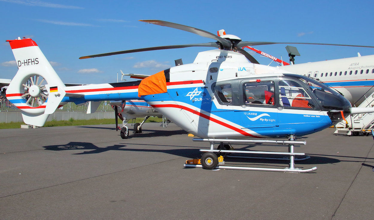 Eurocopter EC-135 ACT FHS