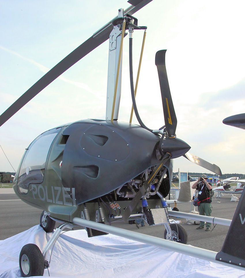 Gyroplane ZEN1, Aviation Artur Trendak: Doppelsitziger Tragschrauber (Side-by-Side)