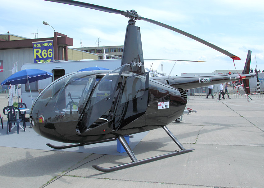 Robinson R44 Raven II: Helikopter des US-Unternehmens Robinson Helicopter Company