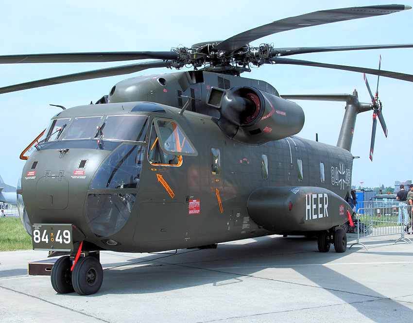 Sikorsky CH-53: Transporthubschrauber