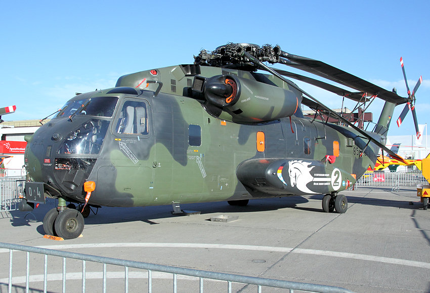 Sikorsky CH-53 GA (German Advanced): runderneuerte Version der CH-53G