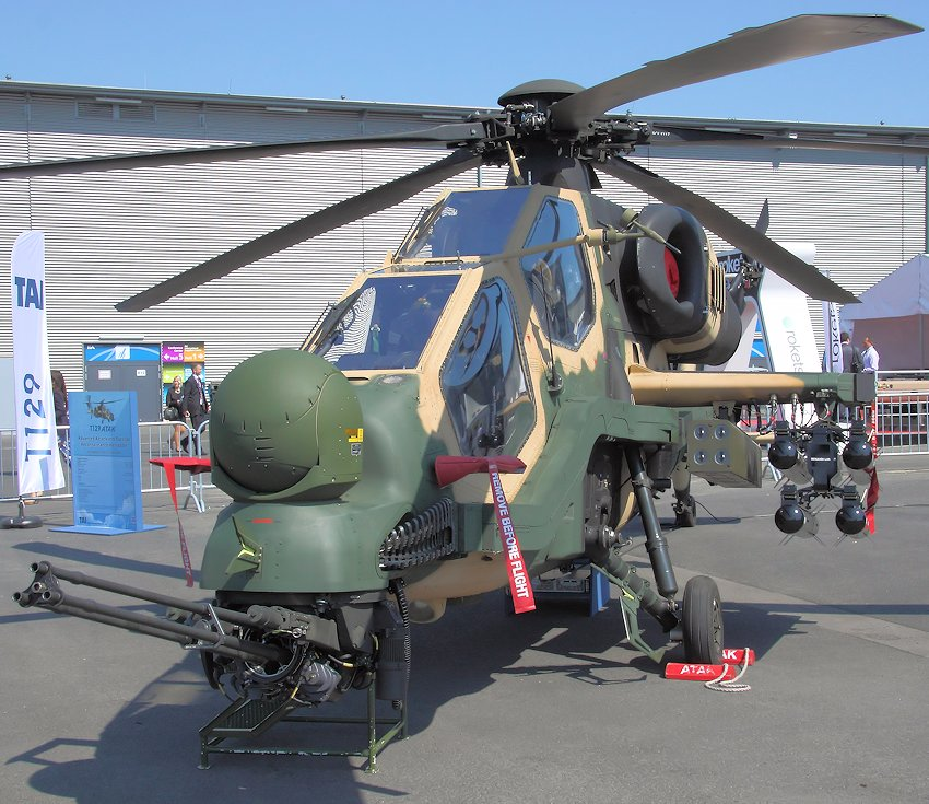 T129 Atak (Advanced Attack and Tactical Reconnaissance Helicopter): allwettertauglicher Kampfhubschrauber