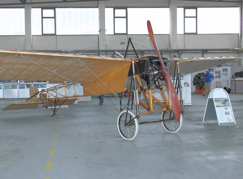 Blériot XI - Detail