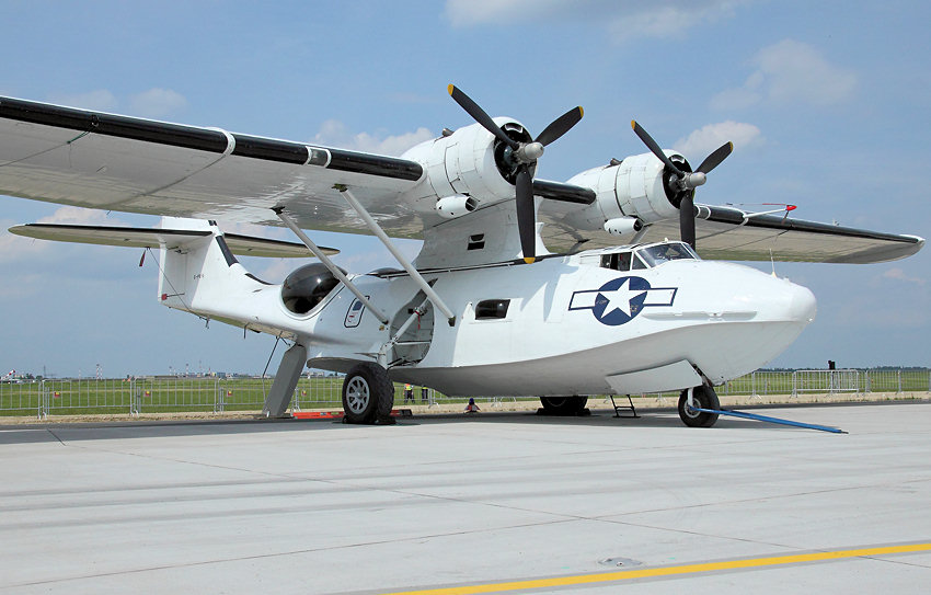 Canadian Vickers PBY-5A Canso: Lizenzbau des Seeaufklärungsflugzeugs der US-Firma Consolidated