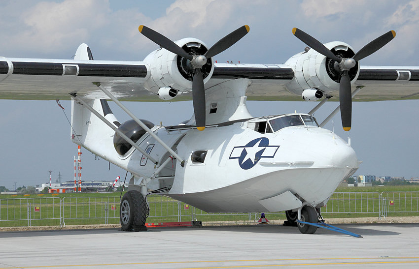 Canadian Vickers PBY-5A Canso: Seeaufklärungsflugzeug der US-Firma Consolidated