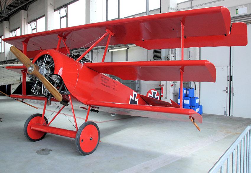 Manfred Von Richthofen Flugzeug