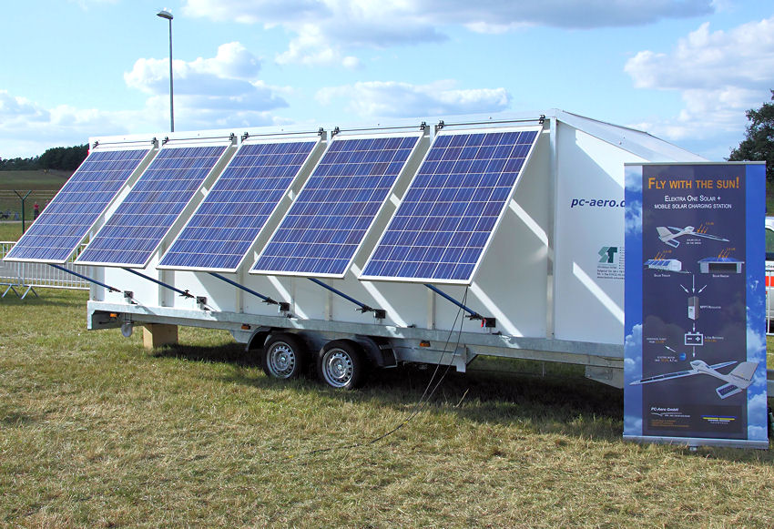 Elektra One Solar: mobile Solarstation