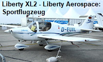 Liberty XL2: zweisitziges Sportflugzeug der US-Firma Liberty Aerospace